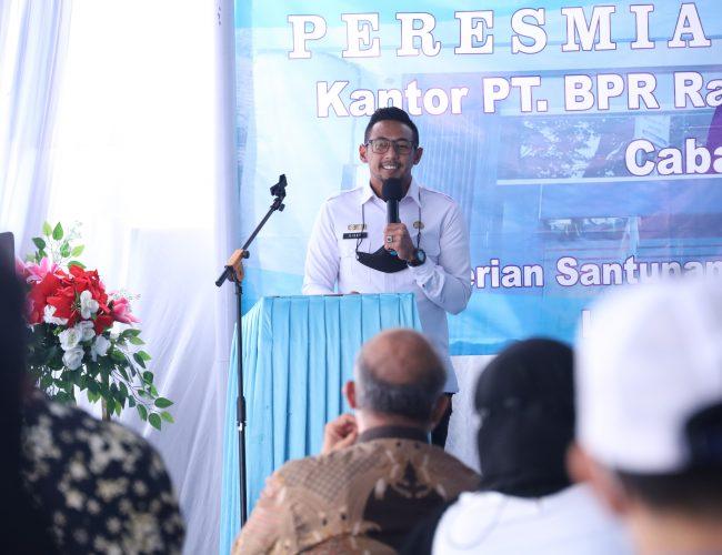 Wabup Ridho Dorong BPR Perkuat Kemitraan dengan UMKM