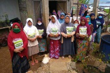 Aksi Kemanusian ACT Kuningan Bantu Lansia dan Anak Yatim di Desa Darma